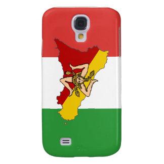 Caso del iPhone de Sicilia Funda Para Galaxy S4