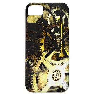 Caso del iPhone de Steampunk de los engranajes iPhone 5 Funda