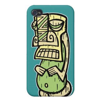Caso del iPhone de Tiki por Tiki tOny iPhone 4/4S Funda