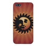 Caso del iphone del acto secundario Mr.Sun iPhone 5 Cárcasa
