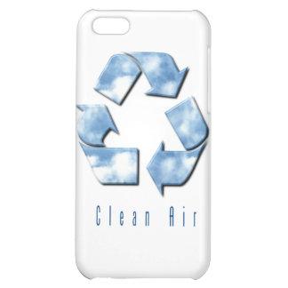 Caso del iPhone del aire limpio