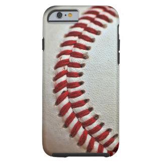 Caso del iphone del amante del béisbol funda para iPhone 6 tough