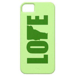Caso del iPhone del amor de Vermont iPhone 5 Carcasa