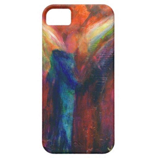 Caso del iPhone del ángel iPhone 5 Carcasas