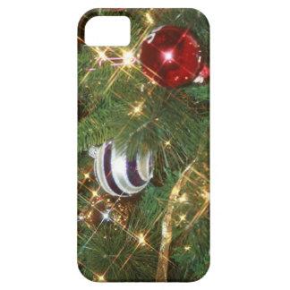 Caso del iPhone del árbol de navidad iPhone 5 Fundas