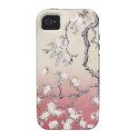 Caso del iPhone del árbol del conejito de Ombre Case-Mate iPhone 4 Funda