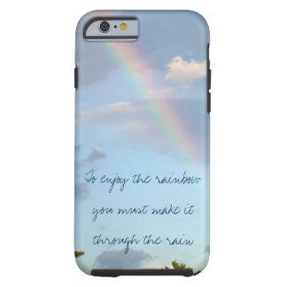 Caso del iPhone del arco iris Funda Resistente iPhone 6
