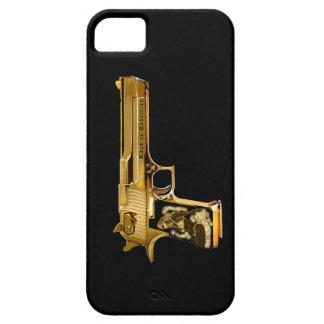 Caso del iPhone del arma del chulo Funda Para iPhone 5 Barely There