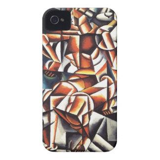 Caso del iPhone del arte de Popova Funda Para iPhone 4