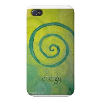 """caso del iphone del arte del corazón de la """"energí iPhone 4 cárcasa"""