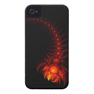 Caso del iPhone del arte del fractal: Escorpión Funda Para iPhone 4 De Case-Mate