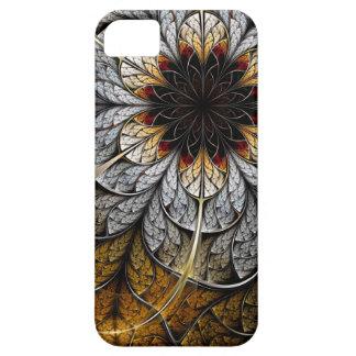 Caso del iPhone del arte del fractal: Flor II iPhone 5 Protector