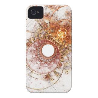 Caso del iPhone del arte del fractal: Temperamento iPhone 4 Fundas
