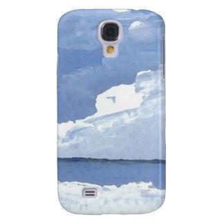 Caso del iPhone del arte del océano de la paz