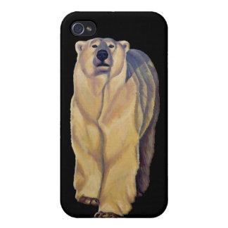 Caso del iPhone del arte del oso del caso del iPhone 4/4S Carcasas
