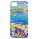 Caso del iPhone del arte: La bahía Cornualles de I iPhone 5 Protectores