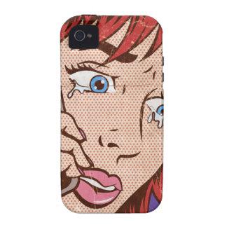 Caso del iPhone del arte pop… Case-Mate iPhone 4 Carcasas