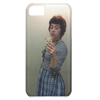 Caso del iPhone del autorretrato de Julia Scroggin Carcasa Para iPhone 5C