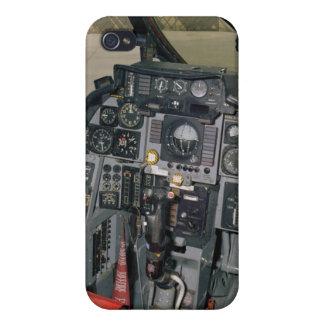 Caso del iPhone del avión de caza a reacción de F- iPhone 4/4S Funda