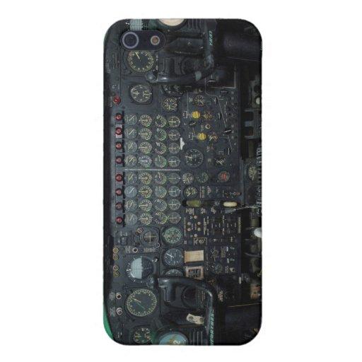 Caso del iPhone del avión del bombardero de B-52 S iPhone 5 Cárcasas