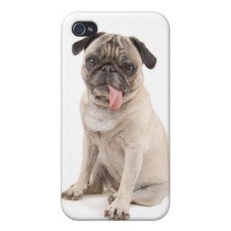 caso del iphone del barro amasado iPhone 4 protectores