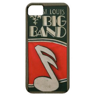 Caso del iphone del big band de St. Louis Funda Para iPhone 5 Barely There