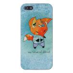 caso del iphone del blessé del renard de la O.N.U iPhone 5 Carcasa
