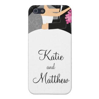 Caso del iPhone del boda iPhone 5 Funda