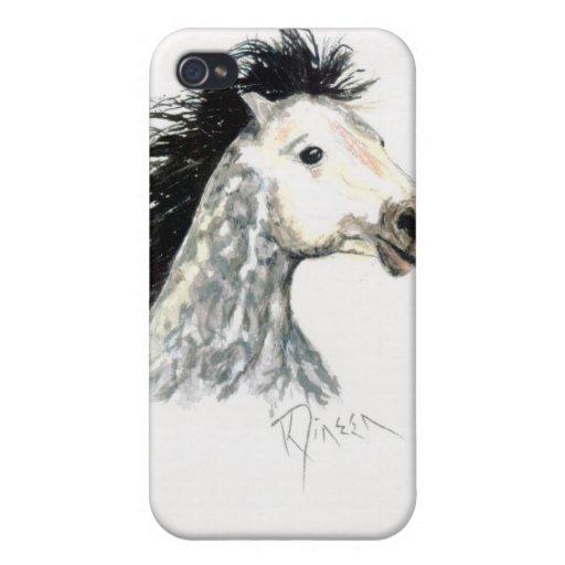 Caso del iPhone del caballo 3G del mustango iPhone 4 Carcasa