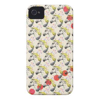 Caso del iPhone del caballo blanco iPhone 4 Carcasa