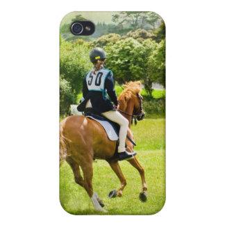 Caso del iPhone del caballo de Eventing iPhone 4 Funda