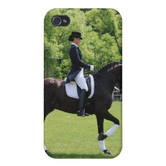 Caso del iPhone del caballo del Dressage iPhone 4/4S Carcasas