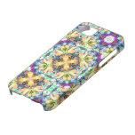 Caso del iPhone del caleidoscopio de cuatro flores iPhone 5 Cobertura