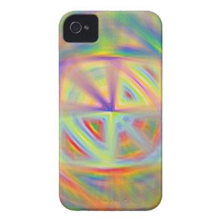 Caso del iPhone del caleidoscopio iPhone 4 Case-Mate Cobertura