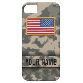 Caso del iPhone del camuflaje del estilo del ejérc iPhone 5 Case-Mate Protectores