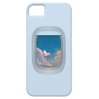 caso del iphone del cerdo del vuelo iPhone 5 cárcasa