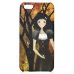 Caso del iPhone del chica del gótico del otoño