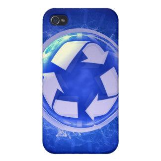 Caso del iPhone del ciclo vital iPhone 4 Protectores