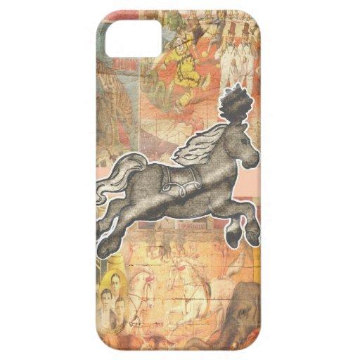 Caso del iPhone del circo iPhone 5 Case-Mate Protector