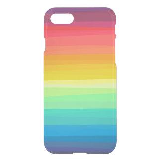 Caso del iPhone del claro del arco iris de Ombre Funda Para iPhone 7