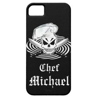 Caso del iPhone del cocinero del cráneo iPhone 5 Carcasa