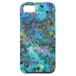 Caso del iPhone del collage de la hoja iPhone 5 Case-Mate Carcasas