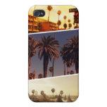 Caso del iPhone del collage de Los Ángeles iPhone 4/4S Fundas