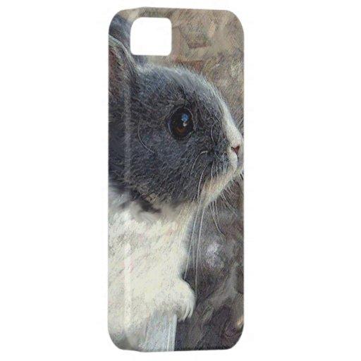 caso del iphone del conejito del bebé iPhone 5 Case-Mate funda