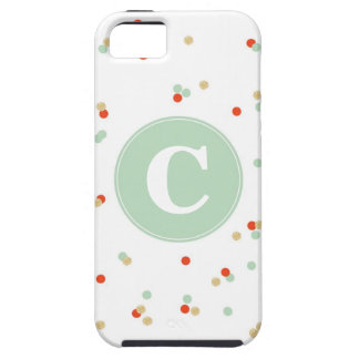 Caso del iPhone del confeti iPhone 5 Case-Mate Carcasa