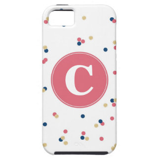Caso del iPhone del confeti iPhone 5 Case-Mate Protector