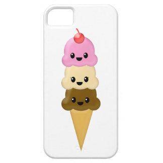 Caso del iPhone del cono de helado Funda Para iPhone 5 Barely There