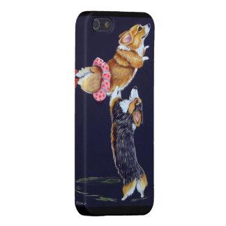 Caso del iPhone del Corgi Galés del Pembroke iPhone 5 Carcasas