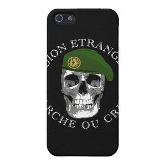 Caso del iPhone del cráneo de Etrangere de la legi iPhone 5 Carcasa