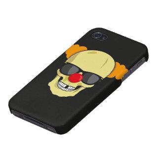 Caso del iPhone del cráneo del payaso iPhone 4/4S Carcasa